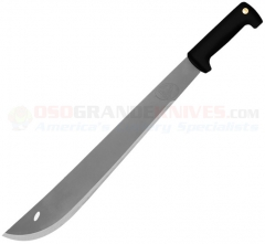 Condor El Salvador Machete, 18 Inch 420HC Stainless Blade, Black Polypropylene Handle, Black Leather Sheath 2020S