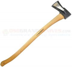 Condor 4030C45 GS German Style Splitting Axe (7.5 Inch 1045HC Head) American Hickory Handle, Leather Sheath
