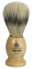 Kent VS80 Pure Bristle Badger Effect Shaving Brush, Small Size, Wood Handle