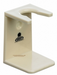 Kent VSB6 Faux Ivory Shaving Brush Stand, Large Neck