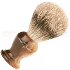 Edwin Jagger 3EJ362 English Shaving Brush, Super Badger, Imitation Light Horn, Large