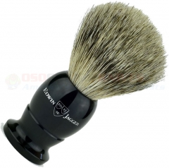Edwin Jagger 9EJ876 English Shaving Brush, Best Badger, Imitation Ebony, Small