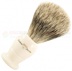 Edwin Jagger 9EJ877 English Shaving Brush, Best Badger, Imitation Ivory, Small