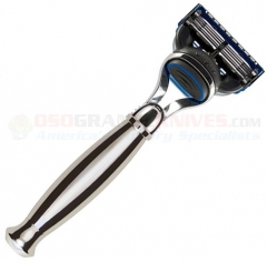 Edwin Jagger R35911F Fusion Razor (Nickel Plated Handle)