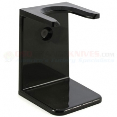 Edwin Jagger Imitation Ebony Plastic Drip Stand for Shave Brush (Large 23mm Neck) RH6L
