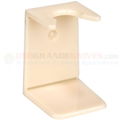 Edwin Jagger RH9S Imitation Ivory Plastic Drip Stand, Small Neck