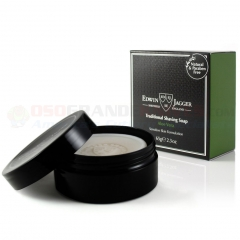 Edwin Jagger SSAVT Natural Traditional Shaving Soap, Aloe Vera, 65g/2.3 oz. in Travel Container