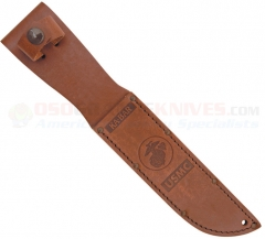 Kabar 1217S USMC Brown Leather Sheath for Fighting Knife