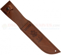 Kabar 1220S USA Brown Leather Sheath for Fighting Knife