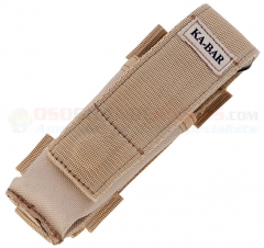 KA-BAR Desert Tan Nylon Sheath for Mule Folder (Fits Most Large Folding Knives up to 5.0 Inches Closed) 3052S