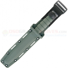 KA-BAR 5011S Foliage Green Hard Knife Sheath (Fits KA-BAR Fighting Knives w/ 7.0 Inch Blade)
