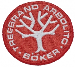 Boker Red Boker Tree Brand Arbolito Patch 090006