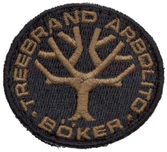 Boker Black Boker Tree Brand Arbolito Patch 090007