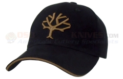 Boker Baseball Cap w/ Embroidered Boker Tree Logo (Black) 09BO001