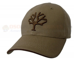 Boker Baseball Cap w/ Embroidered Boker Tree Logo (Desert Tan) 09BO002