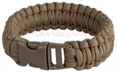 Boker 8 Inch Survival Bracelet (Coyote Tan 550 Paracord) 09JG242