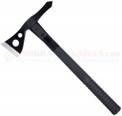 SOG Tactical Tomahawk Black  (15.75 Inches Overall) 2.75 Inch Black Hawk + Hard Nylon Sheath F01T-K