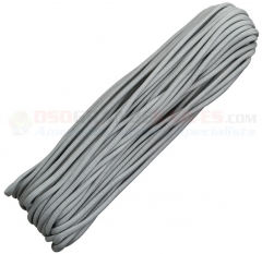 Gray 550 Paracord 100 ft. Hank (Type III Mil Spec 7 Strand Parachute Cord) Made in USA, RG001H