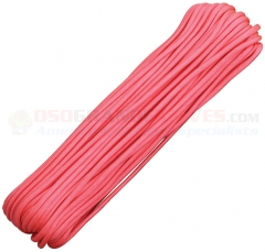Hot Pink 550 Paracord 100 ft. Hank (Type III Mil Spec 7 Strand Parachute Cord) Made in USA, RG002H