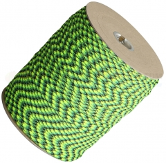 Gecko Green 550 Paracord 1000 ft. Spool (Type III Mil Spec 7 Strand Parachute Cord) Made in USA RG010S