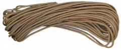 Tan 550 Paracord 100 ft. Hank (Type III Mil Spec 7 Strand Parachute Cord) Made in USA RG028H