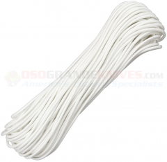 White 550 Paracord 100 ft. Hank (Type III Mil Spec 7 Strand Parachute Cord) Made in USA RG1010H