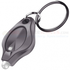 Photon Micro-Light II Key-Ring w/ Switch, Orange