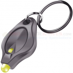 Photon Micro-Light II Key-Ring w/ Switch, Yellow