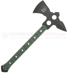 FOX Knives ATC01 Large ATC Commanche Fighting Tomahawk, G10 Handles