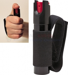 Saber Red Runner / Jogger Pepper Spray .75 oz. Black