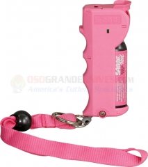 Sabre Red Stop Strap Pepper Spray, Pink .54 oz.