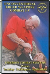 Emerson Unconventional Edged Weapons Combat Video (The Master Knife Combatives Course 5 DVD Set) UCEWC1-5