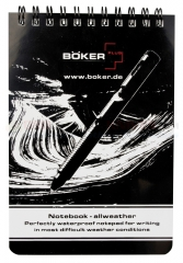 Boker Plus Weatherproof Notebook Large, 09BO191