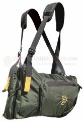 Ribz Alpine Green Front Pack Small, GRN-S-1111