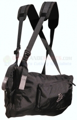 Ribz Stealth Black Front Pack Regular, BLK-R-2000