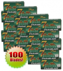 7AM Platinum DE Blades, 100 Ct  (20 x 5)