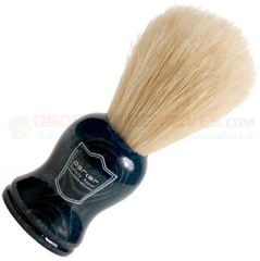 Parker Boar Bristle Shave Brush, Blue Wood Handle, BLBO