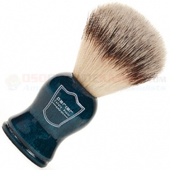 Parker Synthetic Bristle Shave Brush, Blue Handle, BLSY