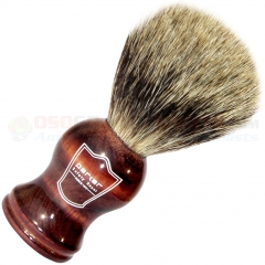 Parker Pure Badger Shave Brush, Rosewood Handle, RHPB