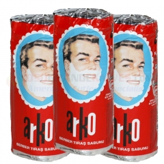 Arko Shaving Soap Stick 2.6 oz. Value 3 Pack