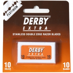 Derby Extra Platinum Stainless Double Edge Blades 10ct