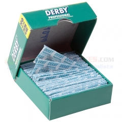 Derby Extra Single Edge Razor Blades, 100 Count