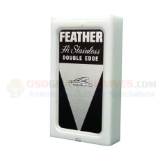 Feather Hi-Stainless Double Edge Safety Razor Blades (5 Pack) FEA1-30-420
