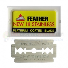 Feather Hi-Stainless Double Edge Razor Blades 10ct