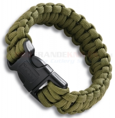 Columbia River CRKT Onion Para-Saw Survival Paracord Bracelet Large (OD Green) 9300DL