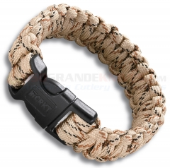 Columbia River CRKT Onion Para-Saw Survival Paracord Bracelet Large (Tan) 9300TL