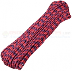 Candy Snake 550 Paracord 100 ft. Hank (Type III Mil Spec 7 Strand Parachute Cord) Made in USA RG017H