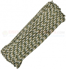 ACU Camo 550 Paracord 100 ft. Hank (Type III Mil Spec 7 Strand Parachute Cord) Made in USA RG022H