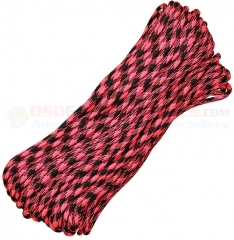 Rosa Noche 550 Paracord 100 ft. Hank (Type III Mil Spec 7 Strand Parachute Cord) Made in USA RG1022H