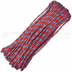 Confederate 550 Paracord 100 ft. Hank (Type III Mil Spec 7 Strand Parachute Cord) Made in USA RG114H